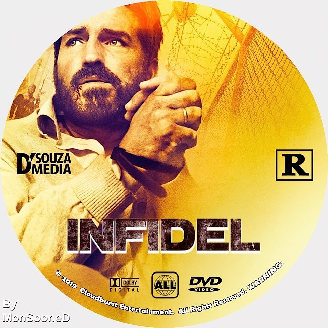 dvd cover Infidel 2019 Dvd Disc Dvd Cover