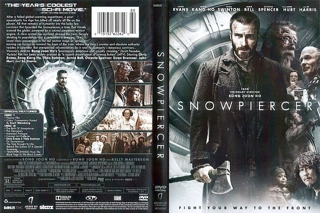 dvd cover Snowpiercer 2013 Dvd Cover