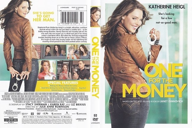 dvd cover One For The Money 2011 Dvd Cover