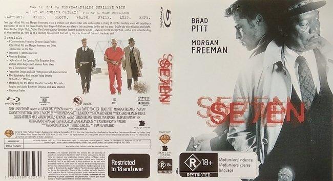 dvd cover Se7en 2012 R0 Dvd Cover