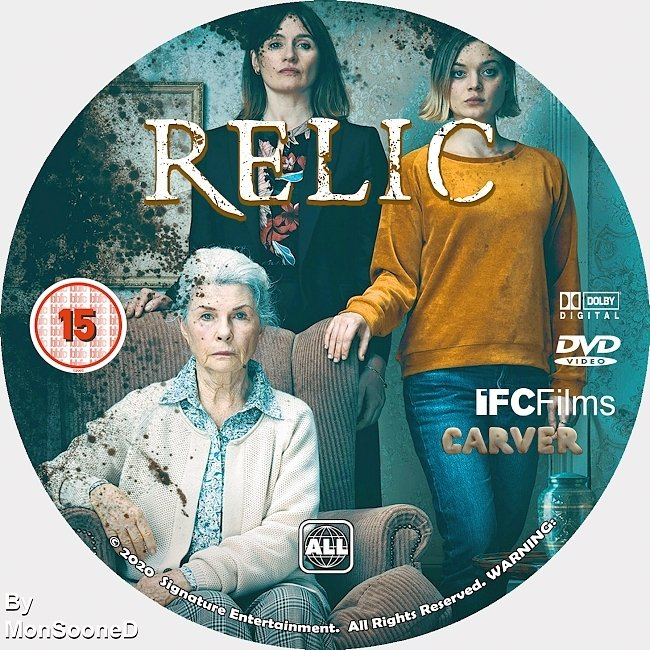 dvd cover Relic 2020 Dvd Disc Dvd Cover
