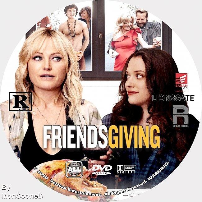 dvd cover Friendsgiving 2020 Dvd Disc Dvd Cover