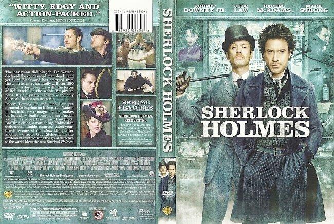 dvd cover Sherlock Holmes 2009 Dvd Cover