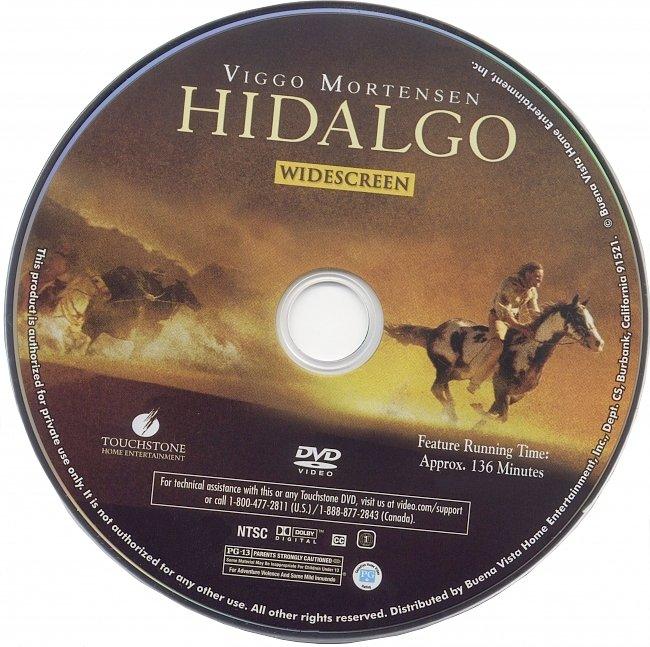 dvd cover Hidalgo 2004 R1 Disc Dvd Cover