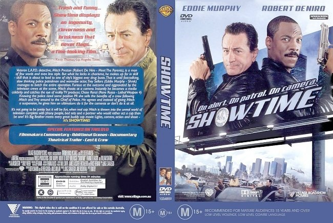 dvd cover Showtime 2002 Dvd Cover
