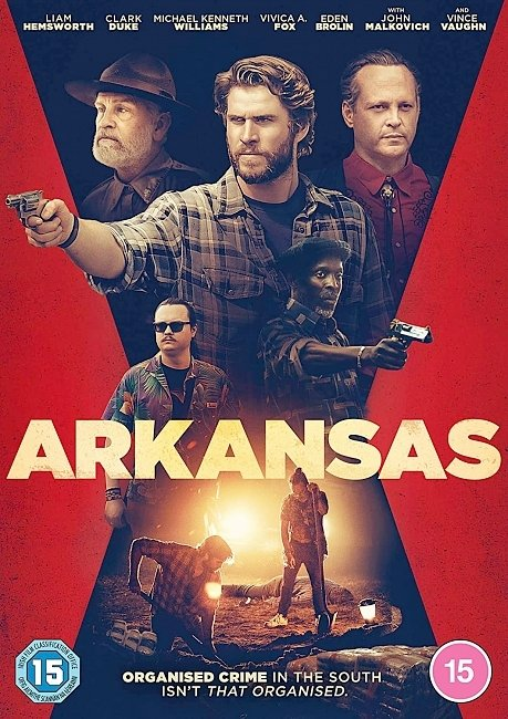 dvd cover Arkansas 2020 Dvd Cover