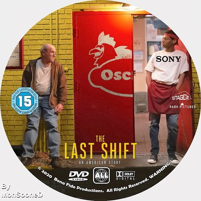 dvd cover The Last Shift 2020 Dvd Disc Dvd Cover
