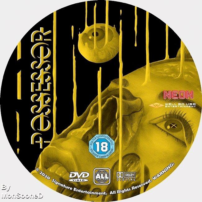 dvd cover Possessor 2020 Dvd Disc Dvd Cover
