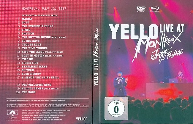 dvd cover Yello - Live At Montreux Jazz Festival 2020 Dvd Cover