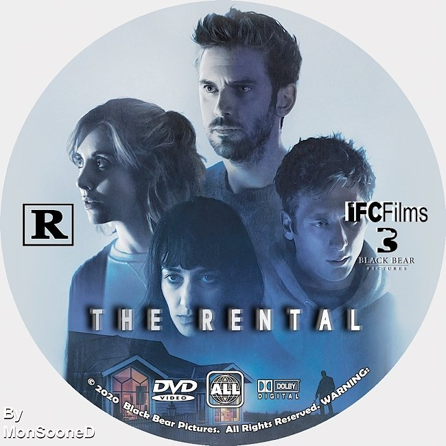 dvd cover The Rental 2020 Dvd Disc Dvd Cover