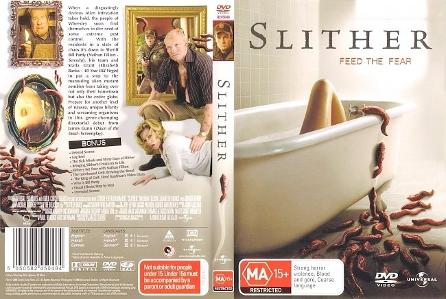 dvd cover Slither 2006 Dvd Cover