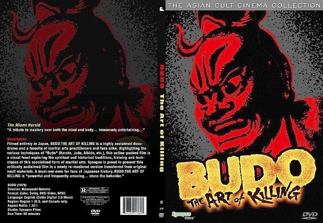 dvd cover Budo -The Art Of Killing 1979 R1 Dvd Cover