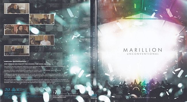 dvd cover Marillion - Unconventional 2015 Dvd Cover