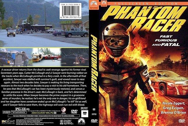 dvd cover Phantom Racer 2009 Dvd Cover
