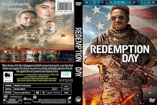 dvd cover Redemption Day 2021 Dvd Cover