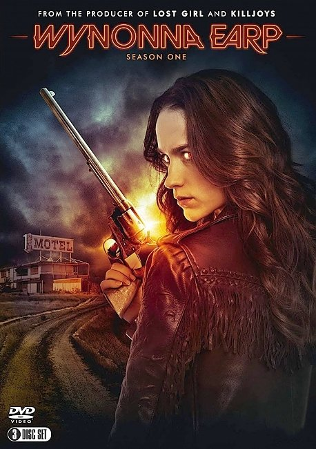 dvd cover Wynonna Earp - Season 1 2016 R1 Front Dvd Cover