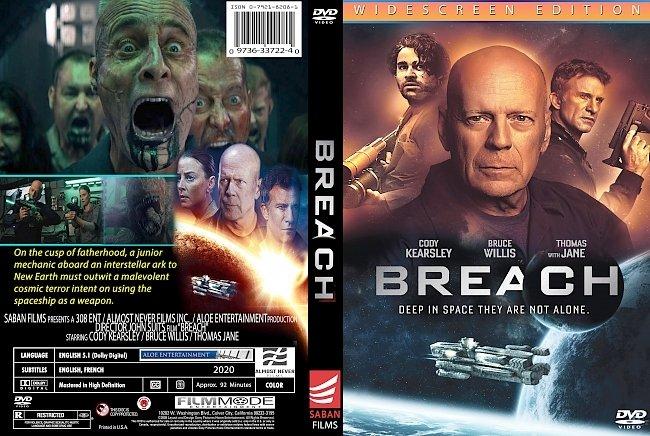 dvd cover Breach 2020 Dvd Cover