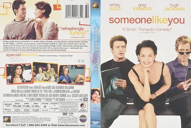 dvd cover Someone Like You 2001 Dvd Cover