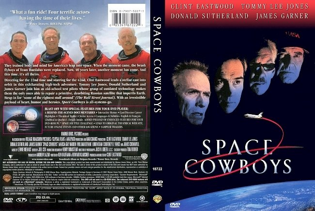 dvd cover Space Cowboys 2000 Dvd Cover