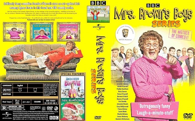 dvd cover Mrs Brown's Boys Series 2021 Dvd Cover