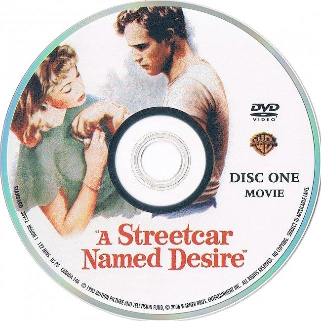 dvd cover A Streetcar Named Desire 1951 R1 Disc 1 Dvd Cover