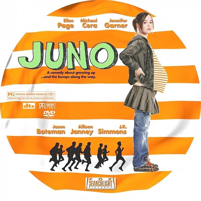dvd cover Juno 2007 R1 Disc Dvd Cover