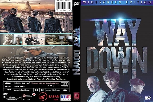 dvd cover Way Down 2021 Dvd Cover