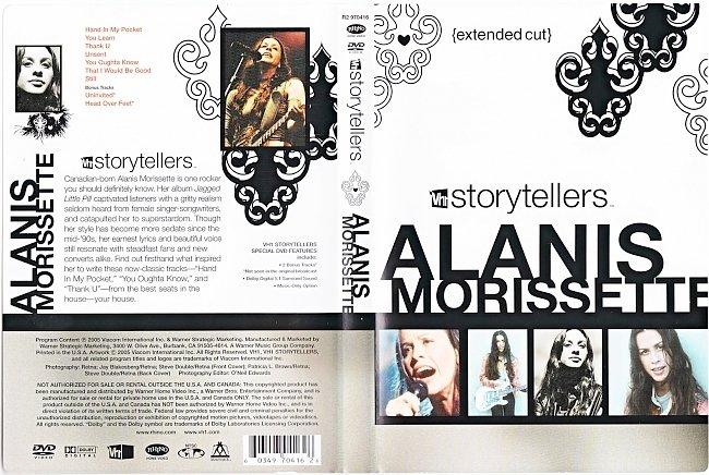 dvd cover Alanis Morissette - VH1 Storytellers 2005 Dvd Cover