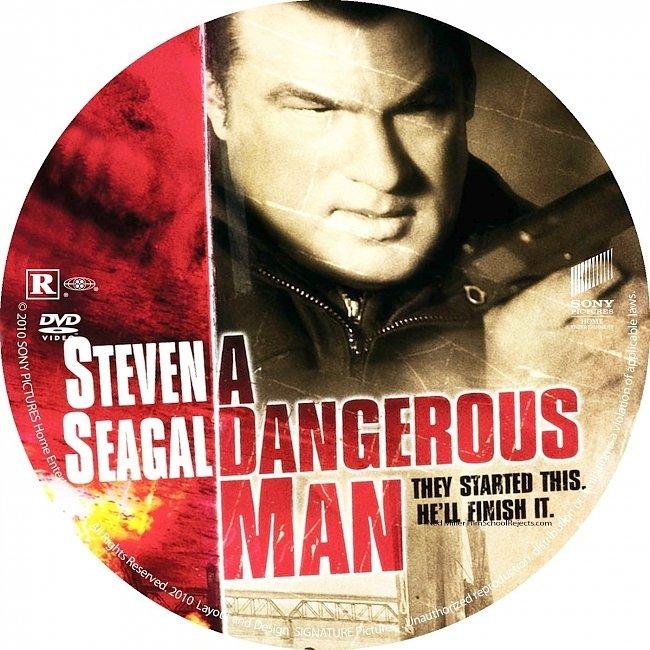 dvd cover A Dangerous Man 2009 R1 Disc Dvd Cover