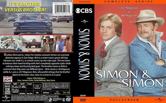 dvd cover Simon & Simon Complete Series 1981-1989 Dvd Cover