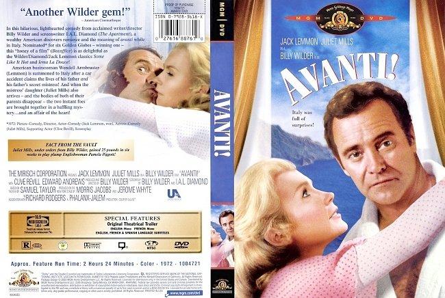 dvd cover Avanti! 1972 R1 Dvd Cover