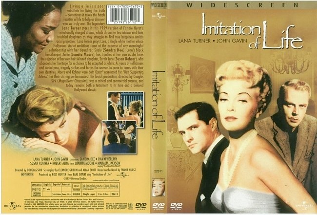 dvd cover Imitation Of Life 1959 R1 Dvd Cover
