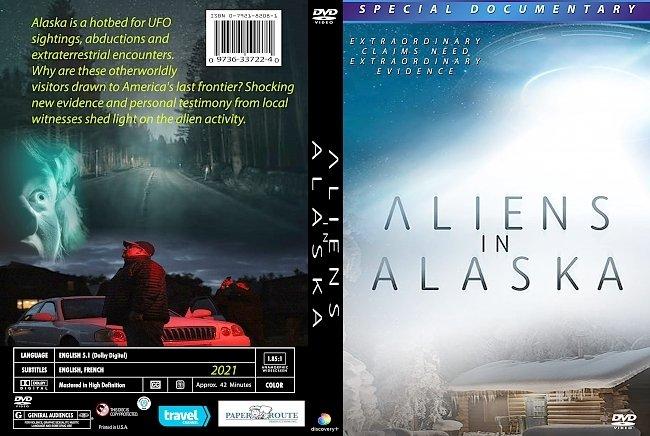 dvd cover Aliens In Alaska 2021 Dvd Cover