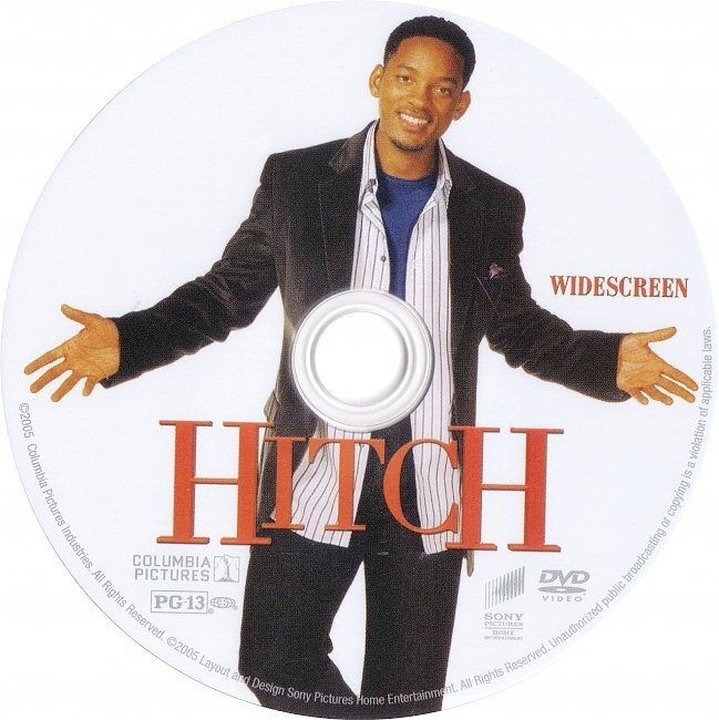 dvd cover Hitch 2005 R1 Disc Dvd Cover