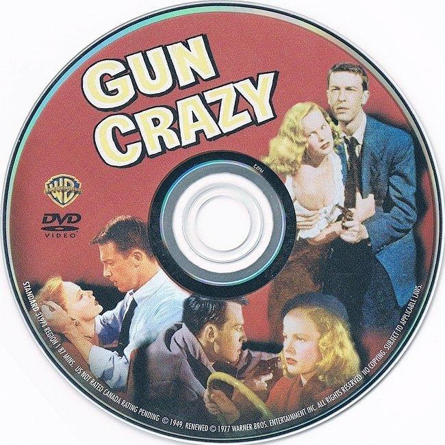 dvd cover Gun Crazy 1950 R1 Disc Dvd Cover