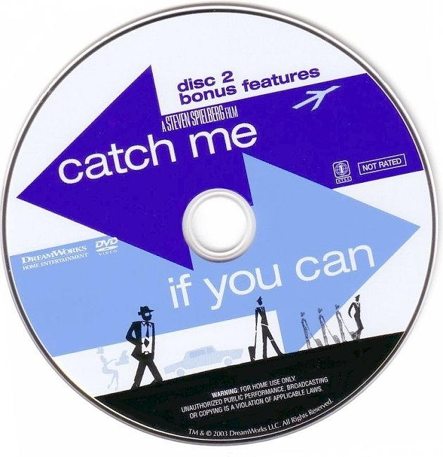 dvd cover Catch Me If You Can 2002 R1 Disc 2 Dvd Cover