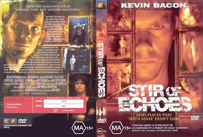 dvd cover Stir Of Echoes 1999 Dvd Cover