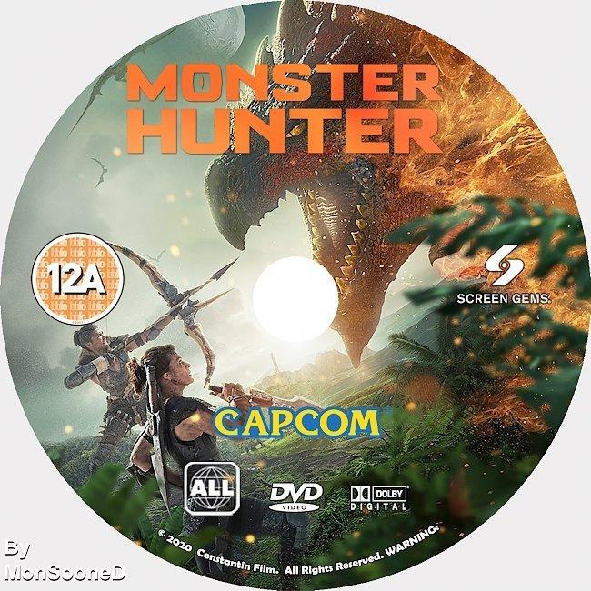 dvd cover Monster Hunter 2020 Dvd Disc Dvd Cover