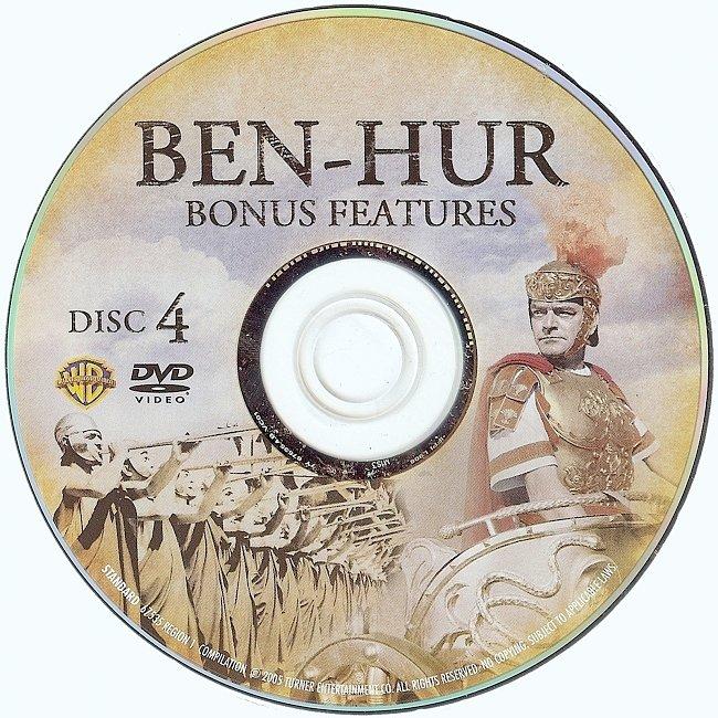 dvd cover Ben-Hur 1959 R1 Disc 4 Dvd Cover