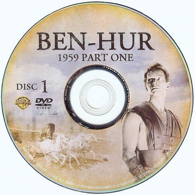 dvd cover Ben-Hur 1959 R1 Disc 1 Dvd Cover