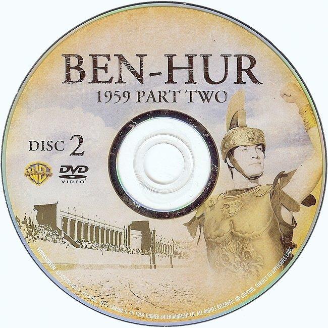 dvd cover Ben-Hur 1959 R1 Disc 2 Dvd Cover