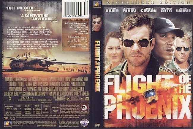 dvd cover Flight Of The Phoenix 2004 Dvd Cover