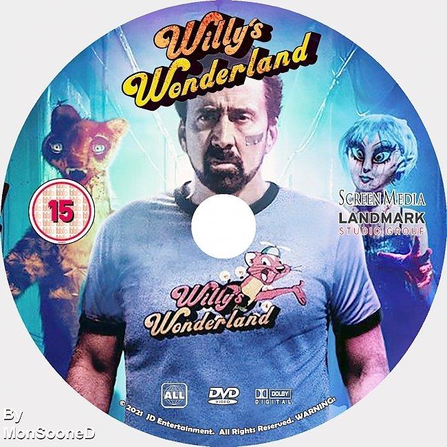 dvd cover Willys Wonderland 2021 Dvd Disc Dvd Cover