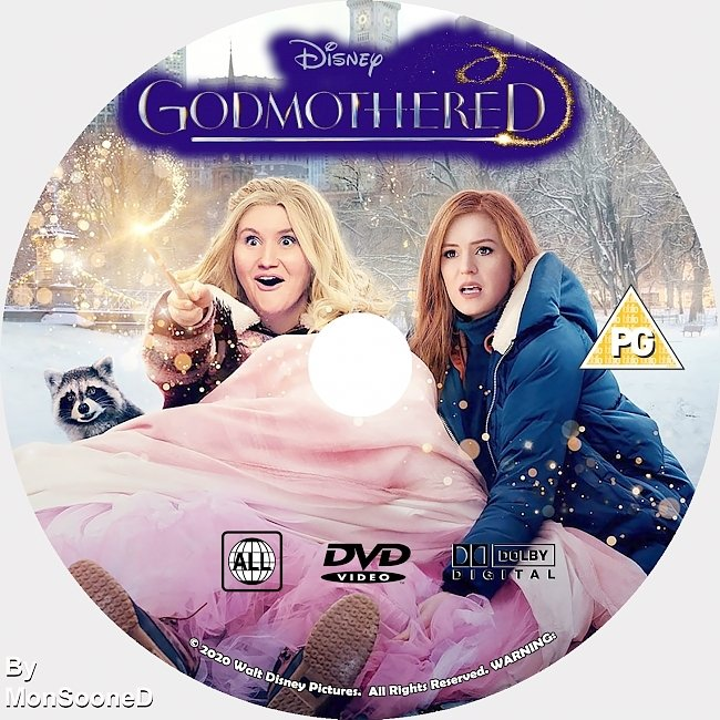 dvd cover Godmother 2020 Dvd Disc Dvd Cover