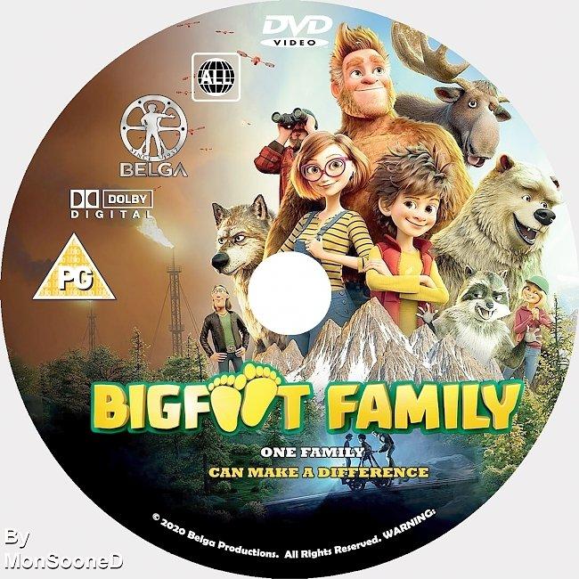 dvd cover Bigfoot Family 2020 Dvd Disc Dvd Cover