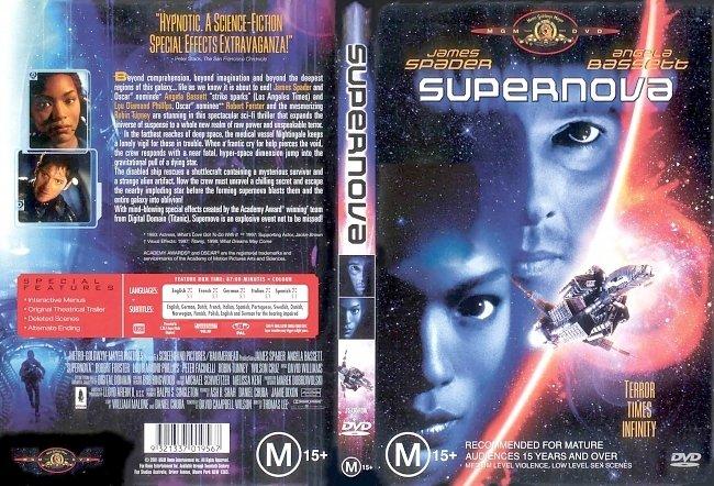 dvd cover Supernova 2000 Dvd Cover