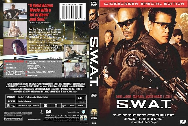 dvd cover Swat 2003 Dvd Cover