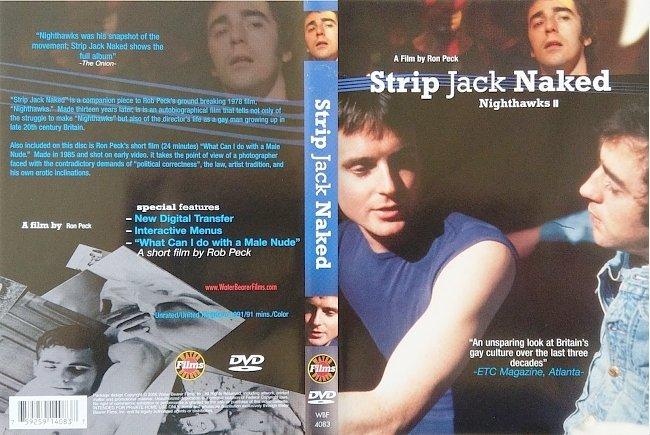 dvd cover Strip Jack Naked - Nighthawks II 2006 R0 Dvd Cover
