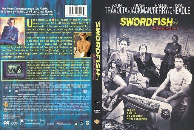 dvd cover Swordfish 2001 Dvd Cover