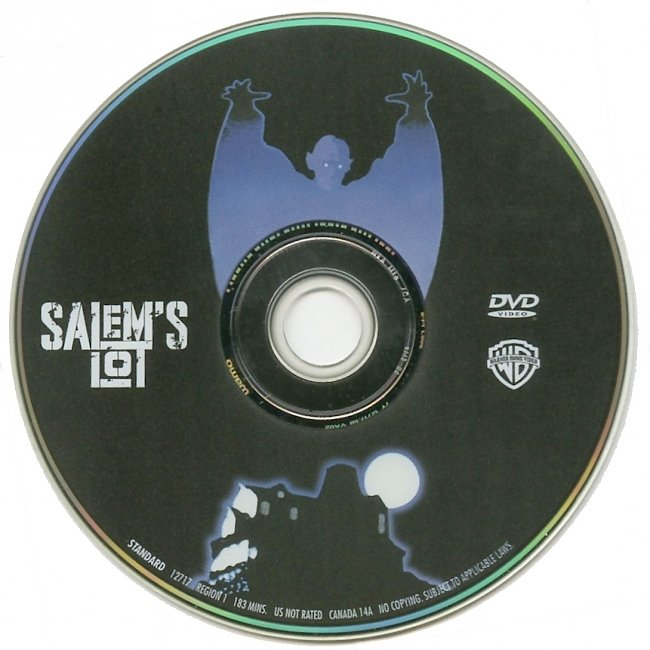 dvd cover Salems Lot 1979 R1 Disc Dvd Cover